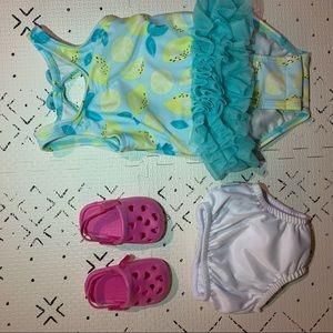 Other - Baby girl swim set 6 months